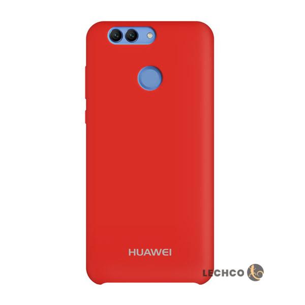 قاب گوشی سیلیکونی هواوی Nova2 plus قرمز