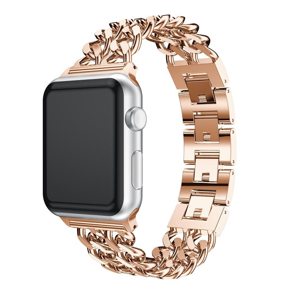 بند ساعت اپل واچ صورتی