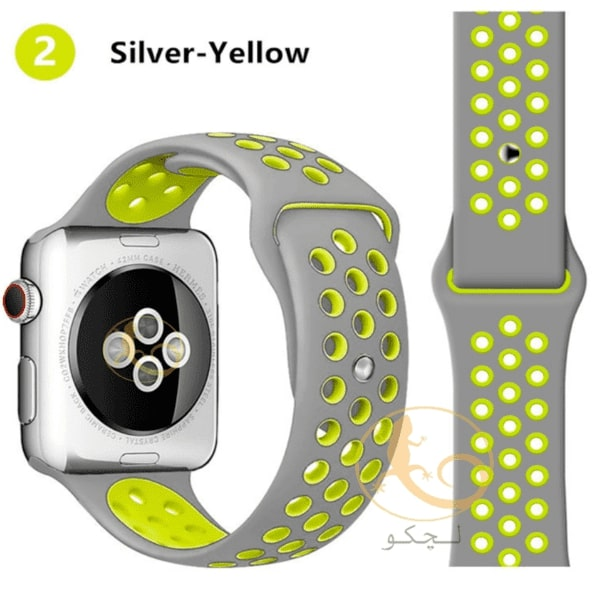 بند اپل واچ سری 5 طوسی زرد