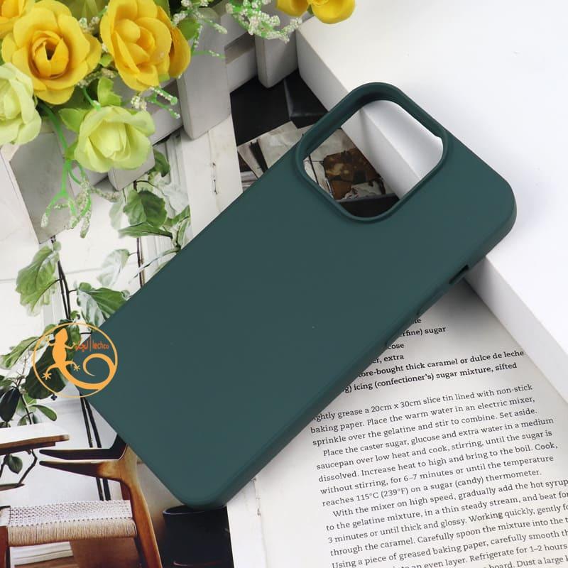 قاب سیلیکونی گوشی آیفون 13 مینی _ iPhone 13 Mini،سبز