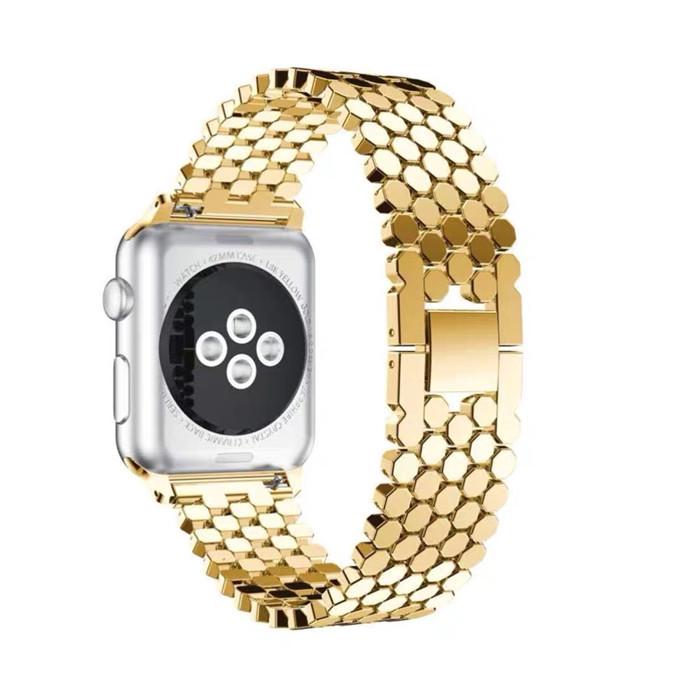 اپل واچ2 فلزی طلایی